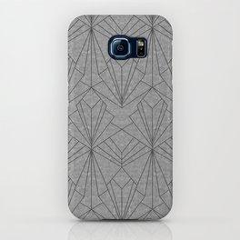 Art Deco in Black & Grey iPhone Case