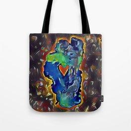 Rock Solid Love Tote Bag