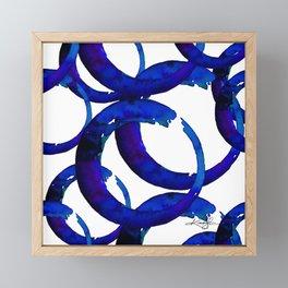 Enso Of Zen No. 21 by Kathy Morton Stanion Framed Mini Art Print
