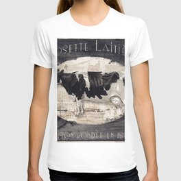Vintage French Farm Sign Cow T-shirt
