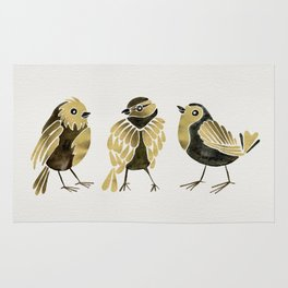 24-Karat Goldfinches Rug