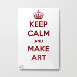 Make Art Metal Print