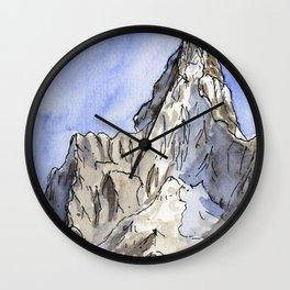 Mount Ama Dablam Wall Clock
