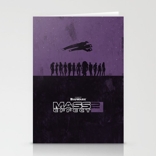 Mass Effect 2 Stationery Cards