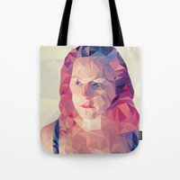 wasted rita Tote Bags featuring Rita by Luis Marques