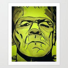Frankenstein - Halloween special! Art Print