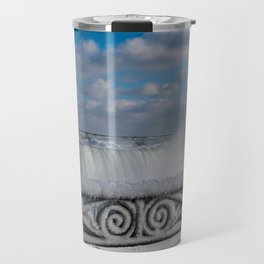 iced fencing - Niagara Travel Mug