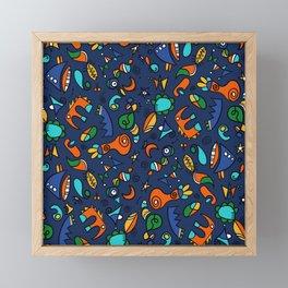 Amusons nous mini hélène Framed Mini Art Print