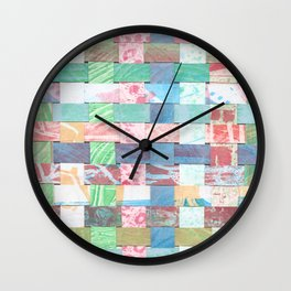 madras Wall Clock
