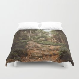 Table Mountains - Landscape and Nature Photography Duvet Cover