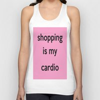 shopping Tank Tops featuring SHOPPING by I Love Decor