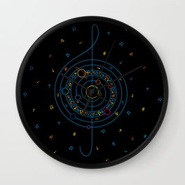 Life in Music Wall Clock