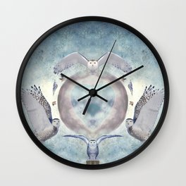Whispers of my imagination Wall Clock