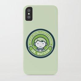 Cute John Watson - Green iPhone Case
