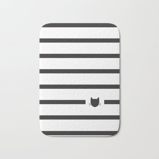 Classic Stripes Bath Mat