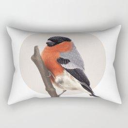 Bull Finch Rectangular Pillow