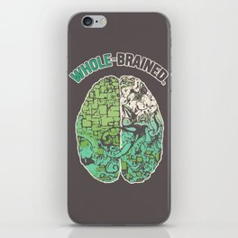 Whole-Brained iPhone Skin