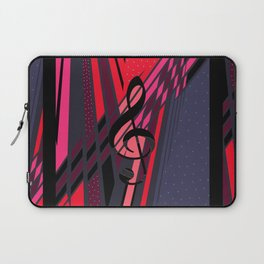 Lively Musical Dimensions Laptop Sleeve