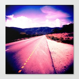 African Road Canvas Print