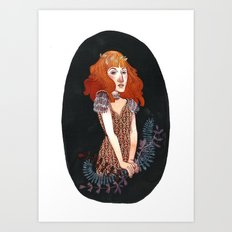 Strangeness and Charm Art Print