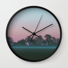 Shadow Of The Earth Wall Clock