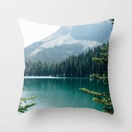 Glacier National Park II Throw Pillow