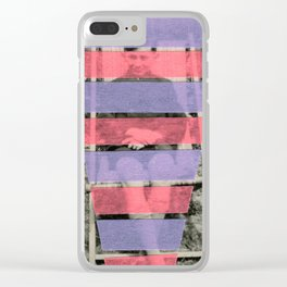 Life Through Filters Clear iPhone Case
