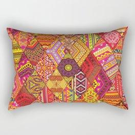 Indian Orgy Rectangular Pillow