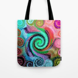 Sticky Love Mosaic Tote Bag