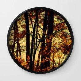 trees VII Wall Clock