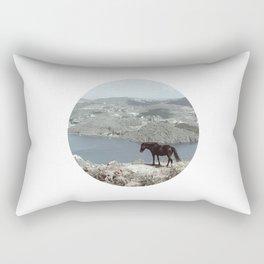 patmos scene Rectangular Pillow