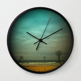One day at the Beach Wall Clock