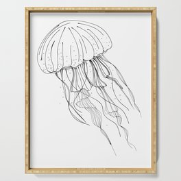 Jellyfish Serving Tray