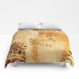 Water Serpents Gustav Klimt Comforters
