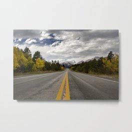 Road to Estes Metal Print