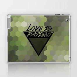Love is Patient Laptop & iPad Skin