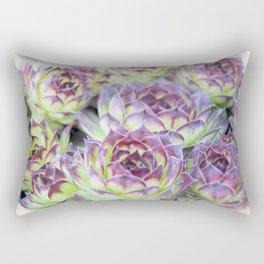 Purple Cactus Pedals Rectangular Pillow