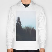 washington Hoodies featuring Washington Woodlands  by Leah Flores