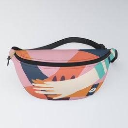 Holding hands circle Fanny Pack