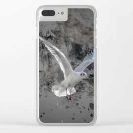 Seagulls Clear iPhone Case
