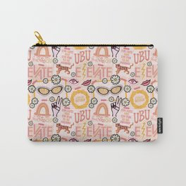 Good Vibes Collage Carry-All Pouch