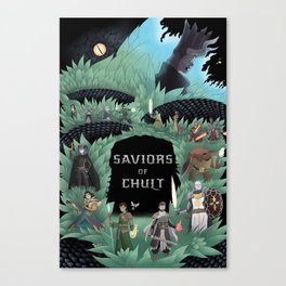 Saviors of Chult Canvas Print