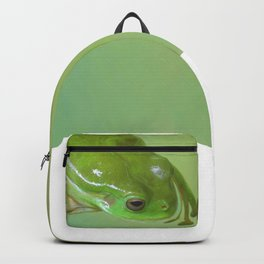 Green frog Backpack