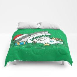 The Santa Shark Comforters