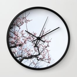 PLUM BLOSSOMS Edition04 Wall Clock
