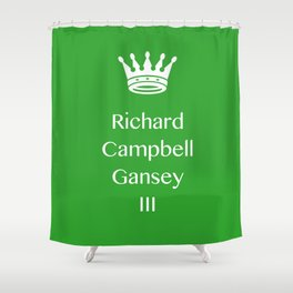 RAVEN CYCLE – gansey Shower Curtain
