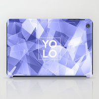 sayings iPad Cases featuring Dreams of YOLO Vol.3 by HappyMelvin