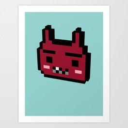 devilish Art Print