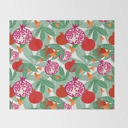 Pomegranate Throw Blanket