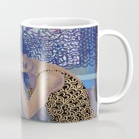 window Mugs featuring Window by doviArt
